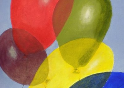 Project 4 Balloons- Layering & Blending